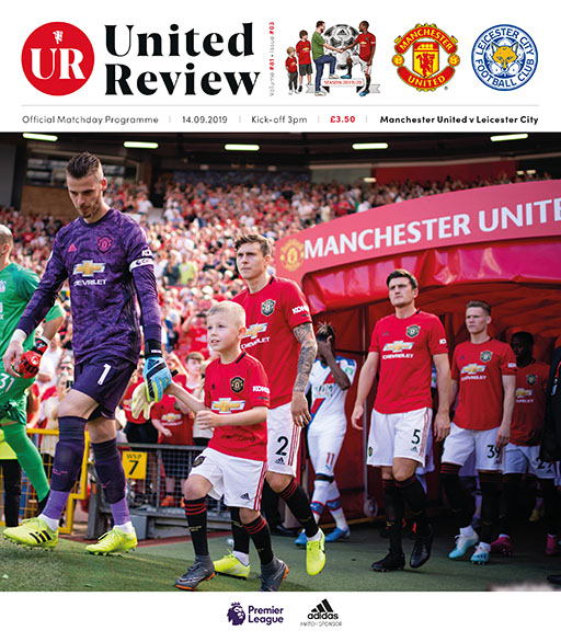 big sale 897ab 5920a Manchester United v Leicester City 14.09.2019 - Reach Sport ...