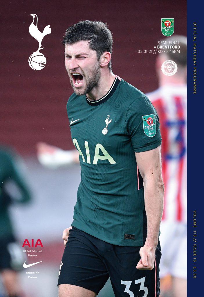 Spurs v Brentford 05.01.2021 - Reach Sport Shop - UK